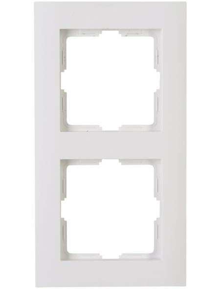 KOPP Abdeckrahmen, Serie ATHENIS, Weiß, Kunststoff