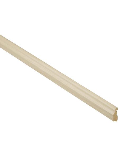 FN NEUHOFER HOLZ Abschlussleiste, Ahorn braun, MDF, LxHxT: 240 x 3,6 x 1,4 cm