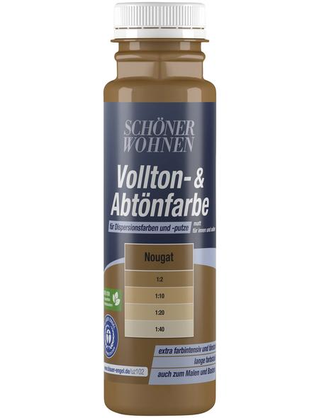 SCHÖNER WOHNEN FARBE Abtönfarbe, nougat, 250 ml