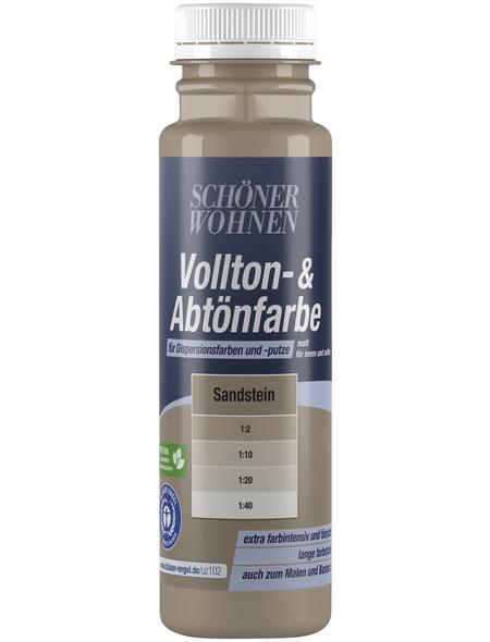 SCHÖNER WOHNEN FARBE Abtönfarbe, sandstein, 250 ml