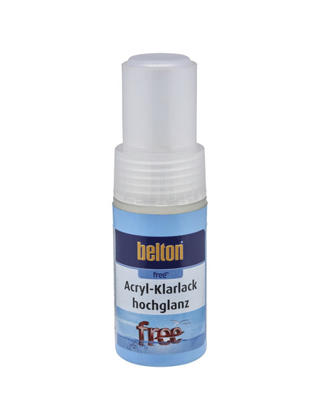 BELTON Acryl-Klarlackstift »free«, 9 ml, transparent