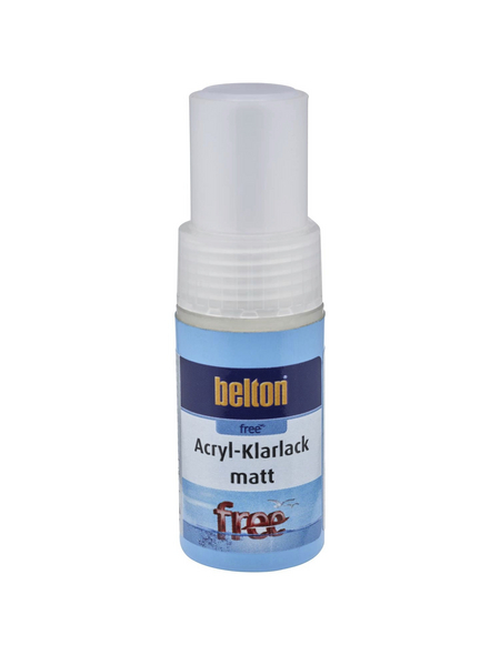 BELTON Acryl-Klarlackstift »free«, 9 ml, transparent