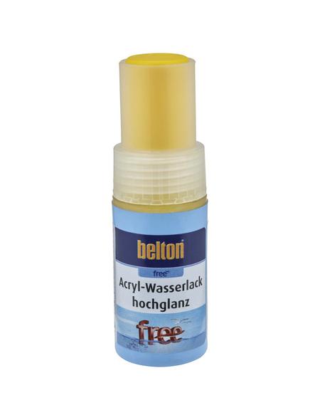 BELTON Acryl-Wasserlack »free«, 9 ml, rapsgelb