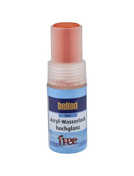 BELTON Acryl-Wasserlack »free«, 9 ml, reinorange