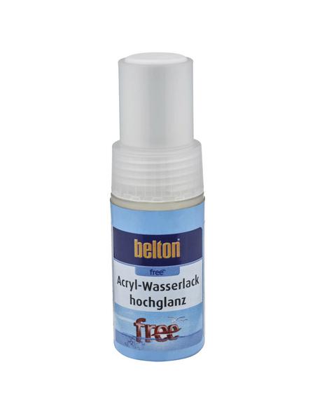 BELTON Acryl-Wasserlack »free«, 9 ml, reinweiß