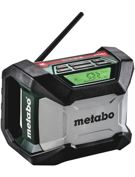 Akku-Baustellenradio, 18 V, Frequenzbereich 522-1620 MHz