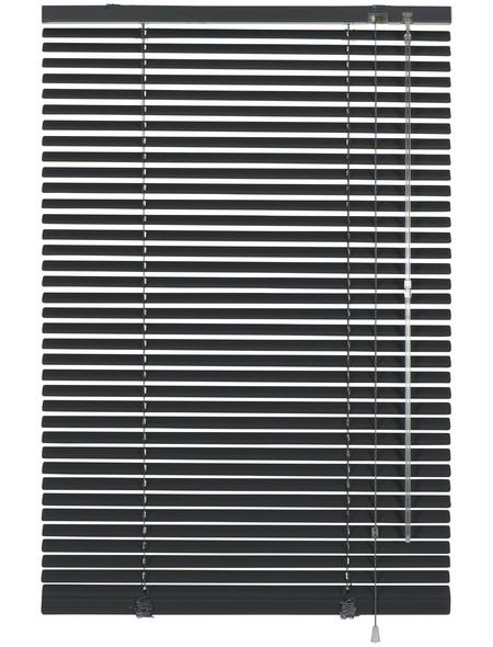 Aluminium-Jalousie, Schiefer, 80x175 cm