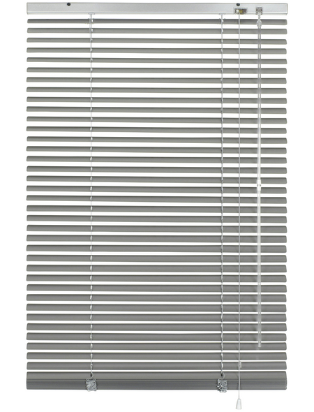 Aluminium-Jalousie, Silber, 120x175 cm