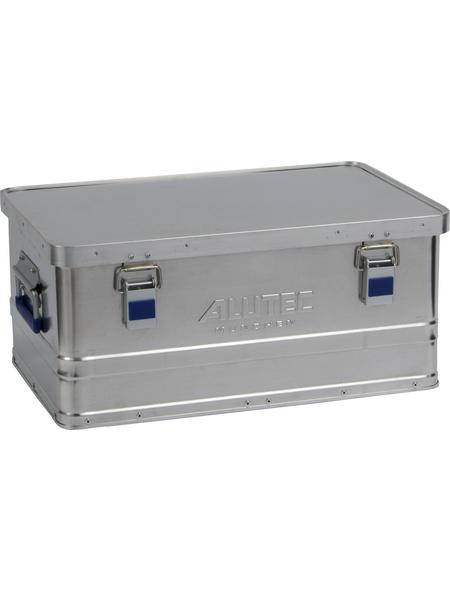 ALUTEC Aluminiumbox »BASIC«, BxHxL: 37 x 24,5 x 56 cm, Metall