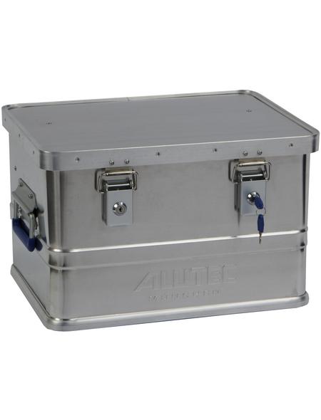 ALUTEC Aluminiumbox »CLASSIC«, BxHxL: 33,5 x 27 x 43 cm, Metall