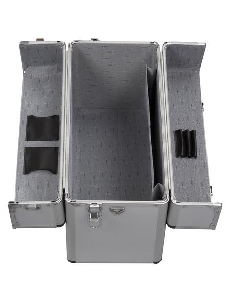 ALUTEC Aluminiumrahmenkoffer »61800«, BxHxL: 36 x 22,0 x 46 cm, Kunststoff