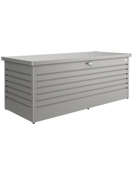 BIOHORT Aufbewahrungsbox »FreizeitBox«, BxHxT: 171 x 71 x 79 cm, quarzgrau-metallic