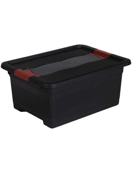 KEEEPER Aufbewahrungsbox »Solido«, BxHxL: 29,5 x 17,5 x 39,5 cm, Kunststoff