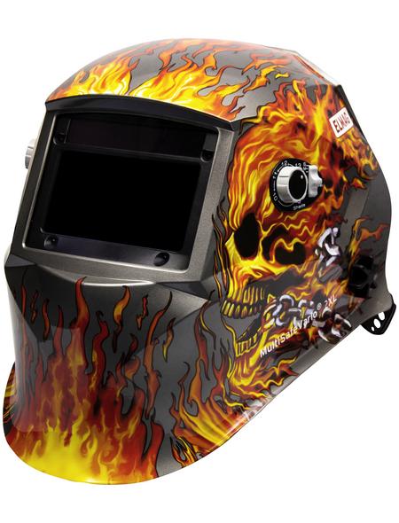 ELMAG Automatischer Kopfschweißschirm, Design FLAME