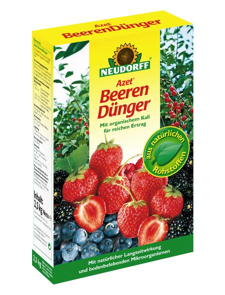 NEUDORFF Azet Beeren- und Obstdünger 2,5 kg