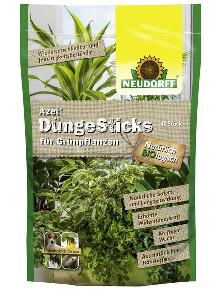 NEUDORFF Azet Düngesticks für Grünpflanzen 40 Stück