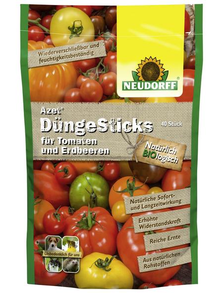 NEUDORFF Azet Düngesticks für Tomaten+Erdbeeren 40 Stück