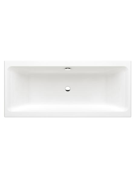 Badewanne, Duowanne, Acryl, B 75 x L 170 cm
