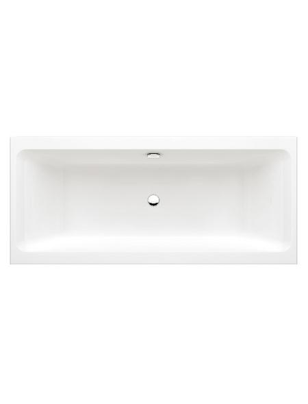 Badewanne, Duowanne, Acryl, B 80 x L 180 cm
