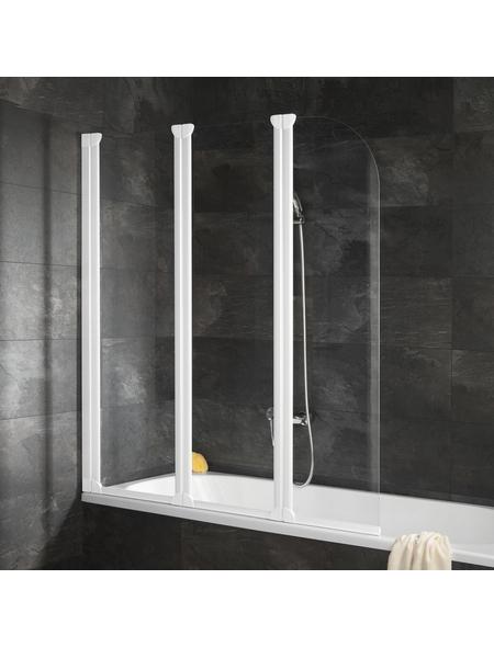 SCHULTE Badewannentrennwand »ExpressPlus«, BxH: 125 x 140 cm, Echtglas