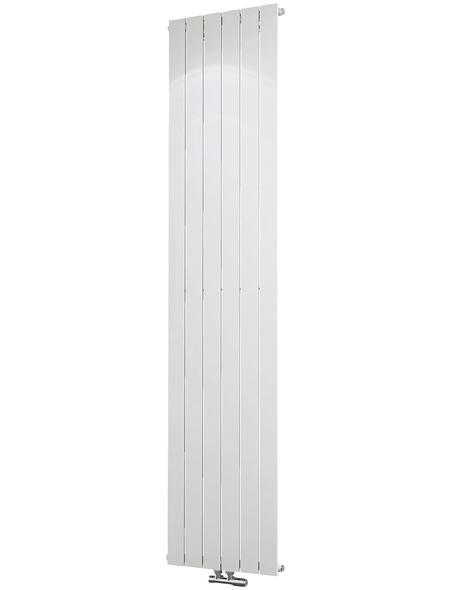 SCHULTE Badheizkörper »Aachen«, B x T x H: 46,4 x 7,5 x 200 cm, 1127 W, alpinweiß