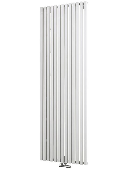SCHULTE Badheizkörper »Lyon«, B x H: 60,6 x 180 cm, 1094 W, alpinweiß
