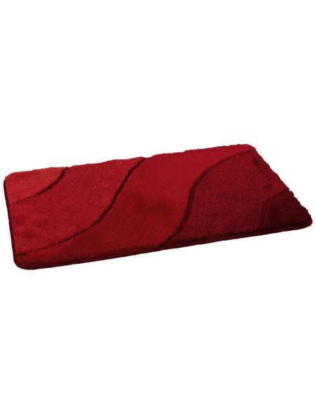 KLEINE WOLKE Badteppich »Wave«, LxBxH: 90x60x2 cm