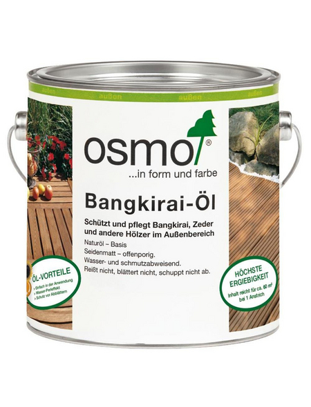 OSMO Bangkiraiöl dunkel seidenmatt 2,5 l