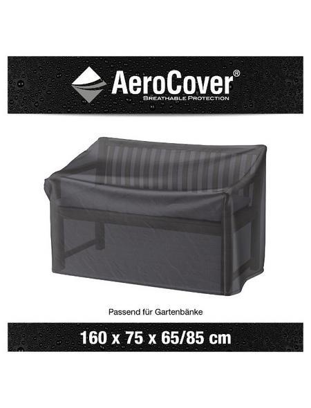 AeroCover Bankschutzhülle, 160 x 75 x H. 65/85  cm