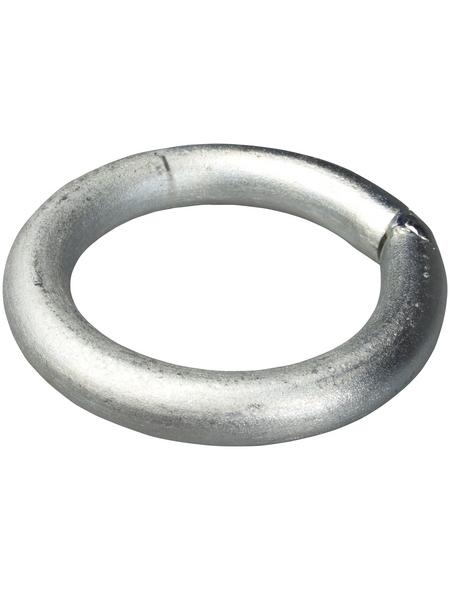 GAH ALBERTS Befestigungsring, Rohstahl, Silber