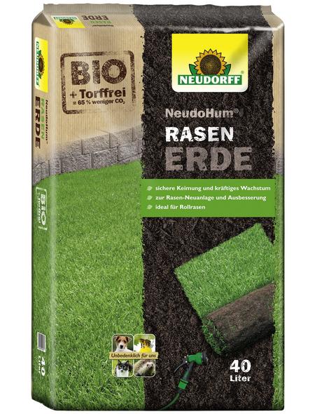 NEUDORFF Bio-Rasenerde »NeudoHum«, für die Neuanlage, Nachsaat und Ausbesserung von Rasenflächen