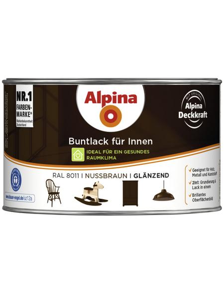 alpina Buntlack, braun , glänzend