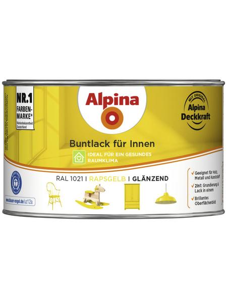 alpina Buntlack, gelb , glänzend