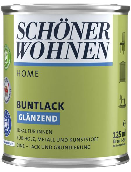 Schöner Wohnen Buntlack »Home«, petrolfarben , glänzend
