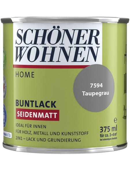 Schöner Wohnen Buntlack »Home«, taupe , seidenmatt