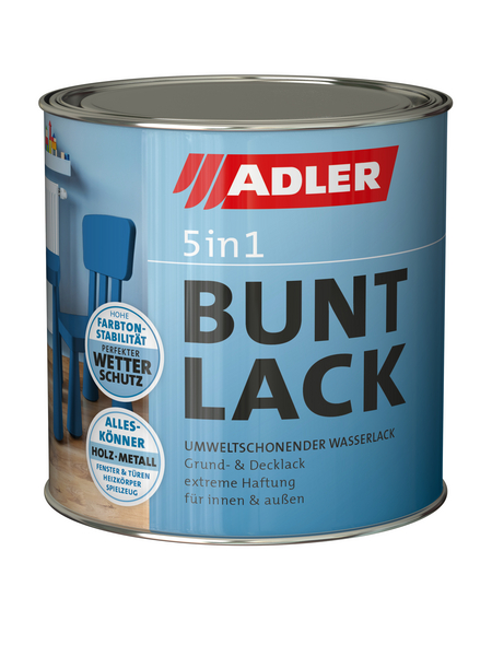 ADLER Buntlack »RAL 8011«, , für innen & außen