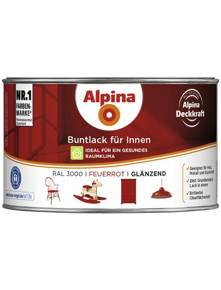 alpina Buntlack, rot , glänzend