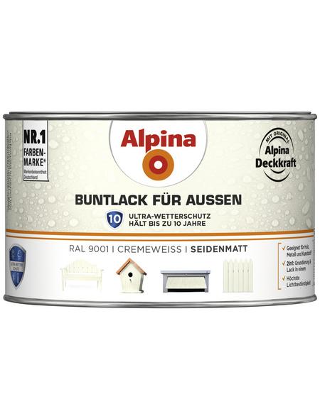 alpina Buntlack, weiß , seidenmatt