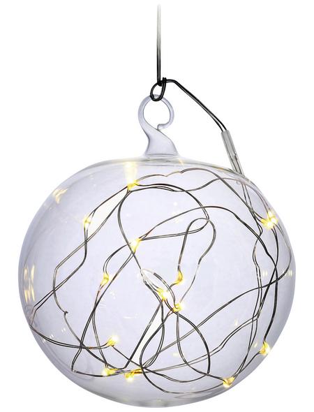 Krinner Deko-Lichtkugel »Lumix Light Ball«, rund, Höhe: 11,5 cm, Batteriebetrieb