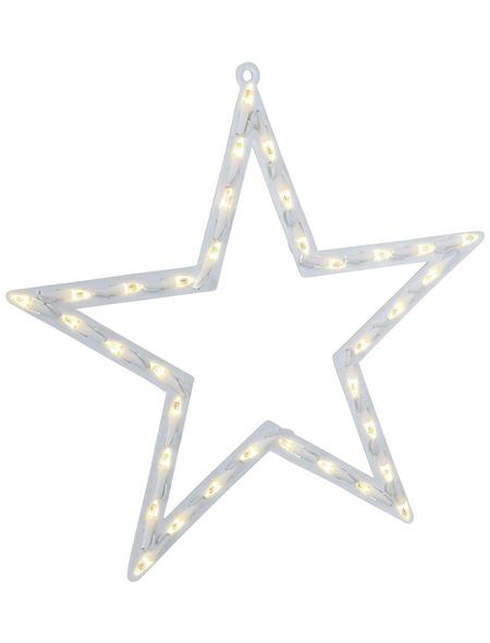 KONSTSMIDE Dekoleuchte, sternförmig, Höhe: 47 cm, Netzbetrieb