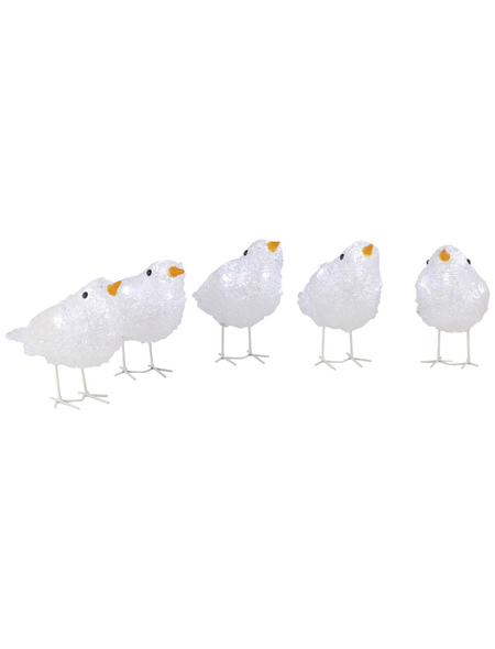 KONSTSMIDE Dekoleuchte, vogelförmig, Höhe: 11,5 cm, Netzbetrieb