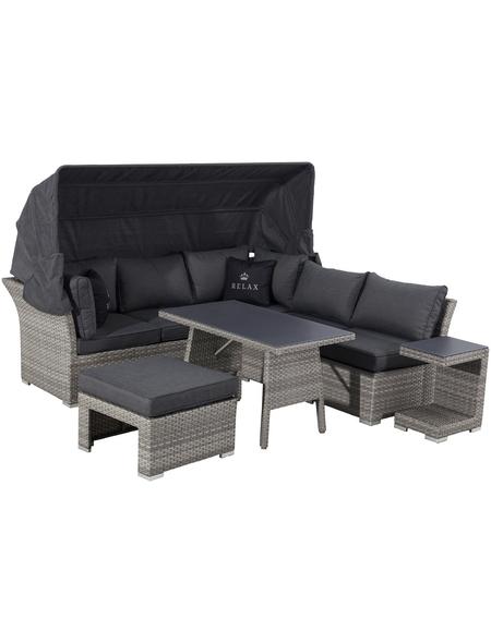 CASAYA Dining-Lounge »Trivor«, 4 Sitzplätze, inkl. Auflagen