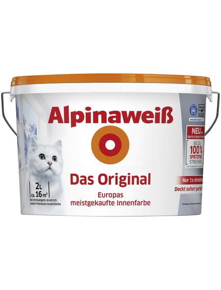 alpina Dispersionsfarbe »Alpinaweiß«, matt