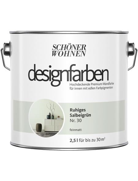 Schöner Wohnen Dispersionsfarbe »Designfarben«, Ruhiges Salbeigrün, matt
