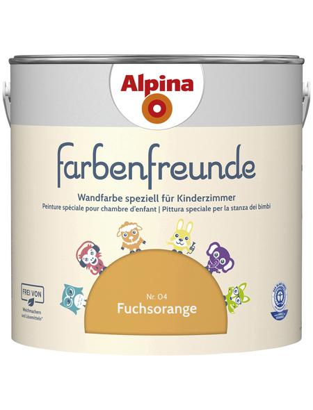 alpina Dispersionsfarbe »Farbenfreunde«, Fuchsorange, matt