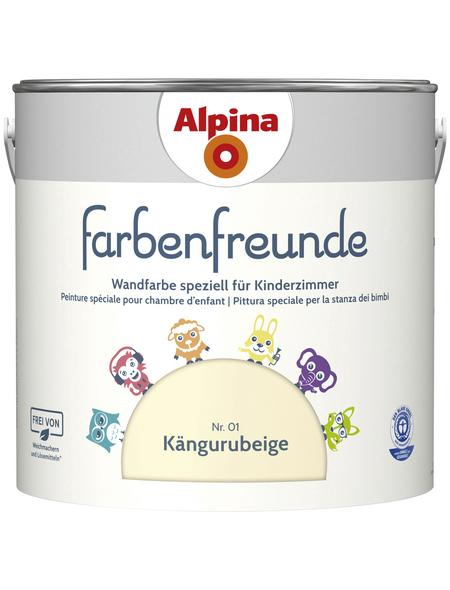 alpina Dispersionsfarbe »Farbenfreunde«, Kängurubeige, matt