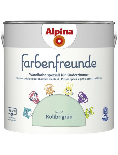 alpina Dispersionsfarbe »Farbenfreunde«, Kolibrigrün, matt
