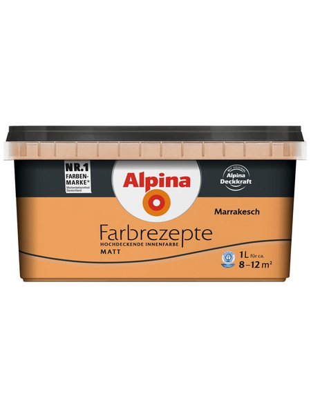 alpina Dispersionsfarbe »Farbrezepte«, Marrakesch, matt