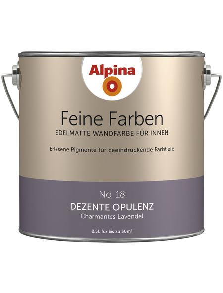 alpina Dispersionsfarbe »Feine Farben«, Dezente Opulenz, matt