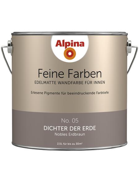 alpina Dispersionsfarbe »Feine Farben«, Dichter der Erde, matt